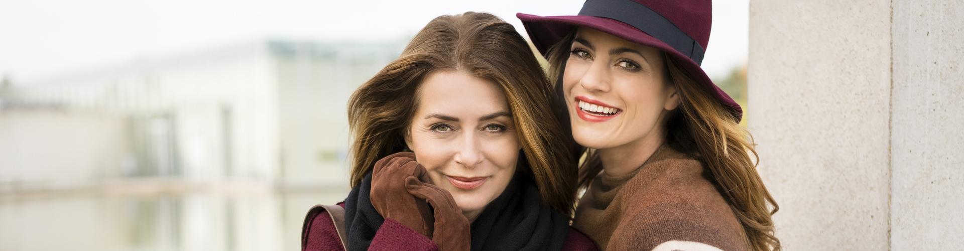 Frauen in Herbstmode Ofa Bamberg