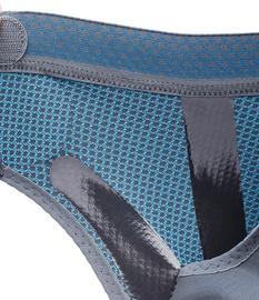 Push Sports Knöchelbandage 8 Detail Innenseite beim Anziehen
