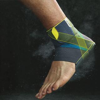 Die Knöchelbandage Kicx von Push Sports wurde eigens für Sportler entwickelt.