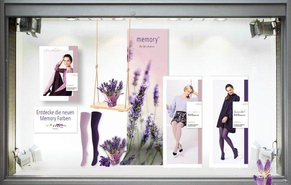 Dekorationsvorschlag Memory