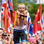 O-motion-Sportler Patrick Lange freut sich über den dritten Platz. Foto: © Michael Rauschendorfer