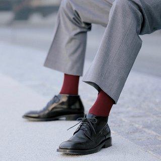 Bunte Socken wie z. B. von Gilofa 2000 machen angeblich schlau.