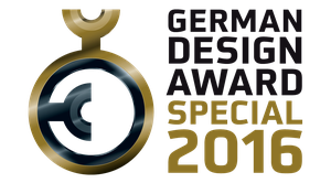 German Design Award Special Mention für die Dynamics Plus  Kniebandage