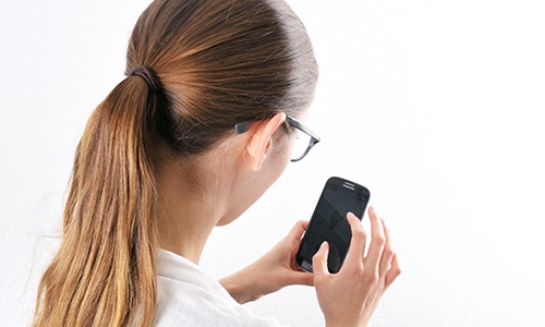 Belastung der Wirbelsäule durch Handynutzung