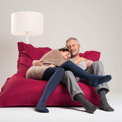 Paar im Sitzsack