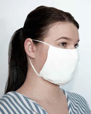 Textile Gesichtsmaske mit Ohrenschlaufen