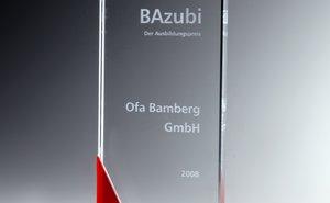 Der BAzubi-Preis ist der der Ausbildungspreis der Stadt Bamberg.