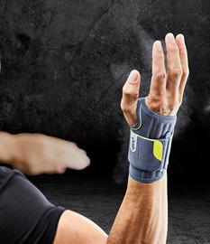 Push Sports Handgelenkbandage in der Anwendung