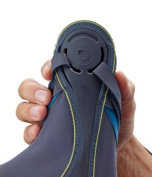 Push Sports Knöchelbandage Kicx Innenseite beim Anziehen