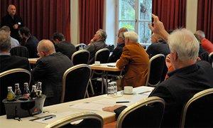 Reges Interesse herrschte beim Bamberger Seminar für Orthopädie und Unfallchirurgie.